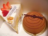 エコール・クリオロのケーキ