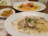 SPAGHETTIAロッテモール金浦空港店でパスタディナー
