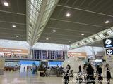 ●成田空港のサクララウンジで朝食