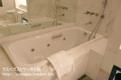 ロッテホテルレディースルームのお風呂