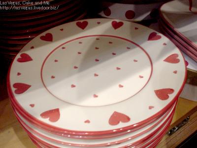ハートのお皿