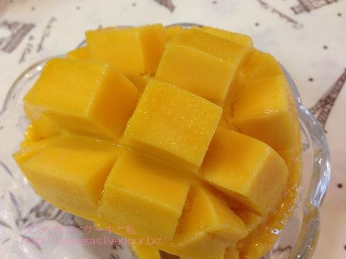 みずみずしく甘いマンゴー