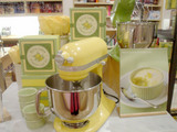 黄色いキッチンエイド