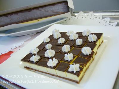 北海道チーズ工房のチョコチーズケーキ