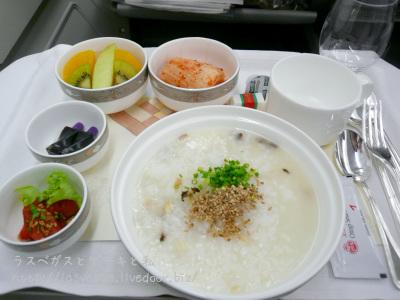 アシアナ航空ビジネスクラス機内食
