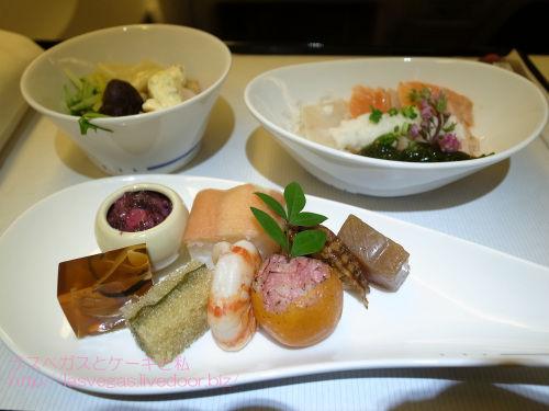 ANAビジ機内食の和食