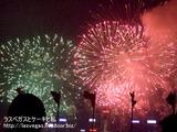 国慶節の花火&興發餐廳で夕食