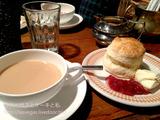 鎌倉 ブンブン紅茶店でクリームテイー