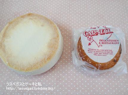 カーネギーデリのチーズケーキと比較