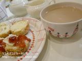 紅茶屋さんのスコーン&紅茶