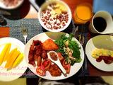 シャングリラ・マクタンリゾートセブ Tidesの朝食ビュッフェ・その2