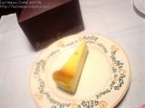 フレイバーのチーズケーキ