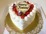 帝国ホテルの誕生日ケーキ&ディナー