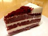 スタバでレッドベルベットケーキ