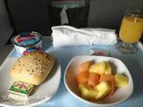エアカナダLAS-YVR機内食&メープルリーフラウンジ