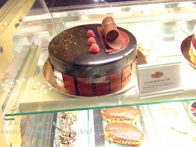 チョコレートラズベリーケーキ
