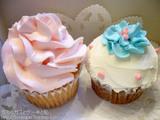 カップケーキ二種