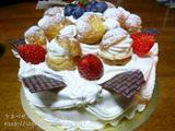 柴又ビスキュイのケーキ