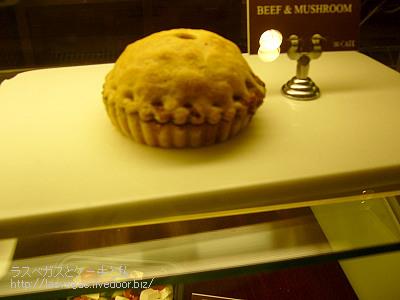 ビーフとマッシュルームのパイ