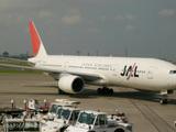 JALの翼で