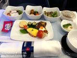エアカナダ エグゼクティブファーストクラス機内食&シート