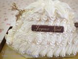 マロンシャンティイのクリスマスケーキ