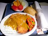 UA機内食