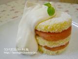 スイカのショートケーキ