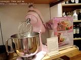ピンクのキッチンエイド