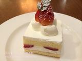 ロイホのストロベリーショートケーキ