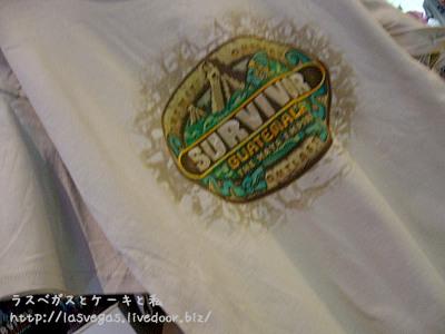 サバイバーTシャツ