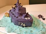 イージス艦ケーキを作ってみた