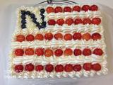 ナノ誕お祝いケーキ