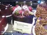 ストロベリーチョコレートムースケーキ
