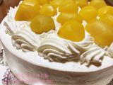 和久井さんの栗のデコレーションケーキ