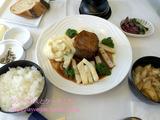 ANA復路 ロサンゼルス-成田線ビジネスクラス機内食