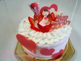 ベビーモンシェールの母の日ケーキ
