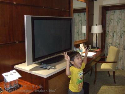テレビが見えない・・