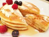 帝国ホテルパークサイドダイナーのパンケーキ朝食