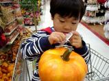 かぼちゃ買ってくれ
