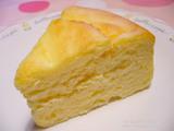ミルキーチーズスフレ