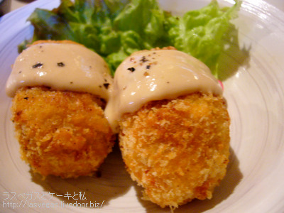 豆腐コロッケ 味噌豆腐マヨ