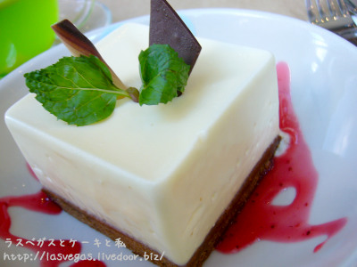 お豆腐ケーキ