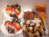 金谷ホテルのケーキ