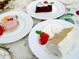 3種のケーキ