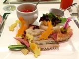 パレスホテル箱根 ピーターラビット宿泊プランのディナー