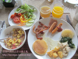 ヴィラ・ゾリチュードの朝食・その4 そして空港へ