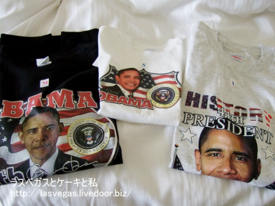 オバマTシャツ