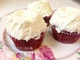 マグノリアのレシピでレッドベルベットカップケーキを作る