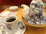 コメダ珈琲店でかき氷
